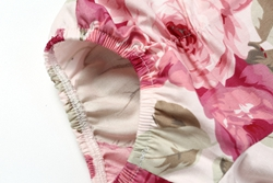 B2019037-3  Shijun Baby Clothing Little Model Top 100 Pant Cotton Cloth Vintage Floral Girl Short (5)__