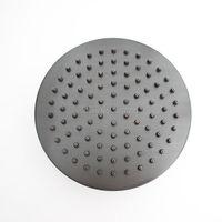 จัดส่งฟรีโดยตรงขาย8นิ้วทรงกลมห้องน้ำโบราณ/สีดำฝนห้องอาบน้ำฝักบัวปรับปรุงบ้านทองแดงห้อง...