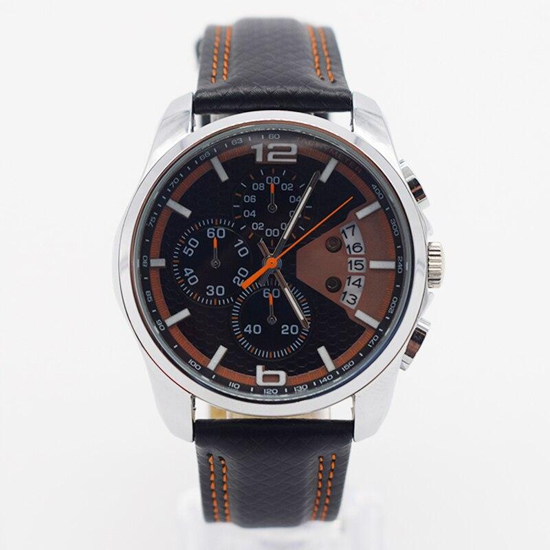 6890b112182c Orange impermeable reloj para hombre del reloj del cuarzo para hombre Top  famosa marca topmerk original reloj buceo moda streamline