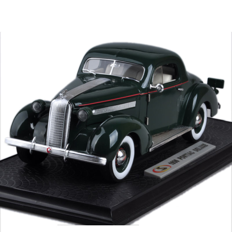 High simulation 1:18 advanced 1936 Pontiac Luxury Car Master,metal castings collection toy vehicles, free shipping high simulation 1 18 advanced alloy car model volkswagen golf gti 1983 metal castings collection toy vehicles free shipping