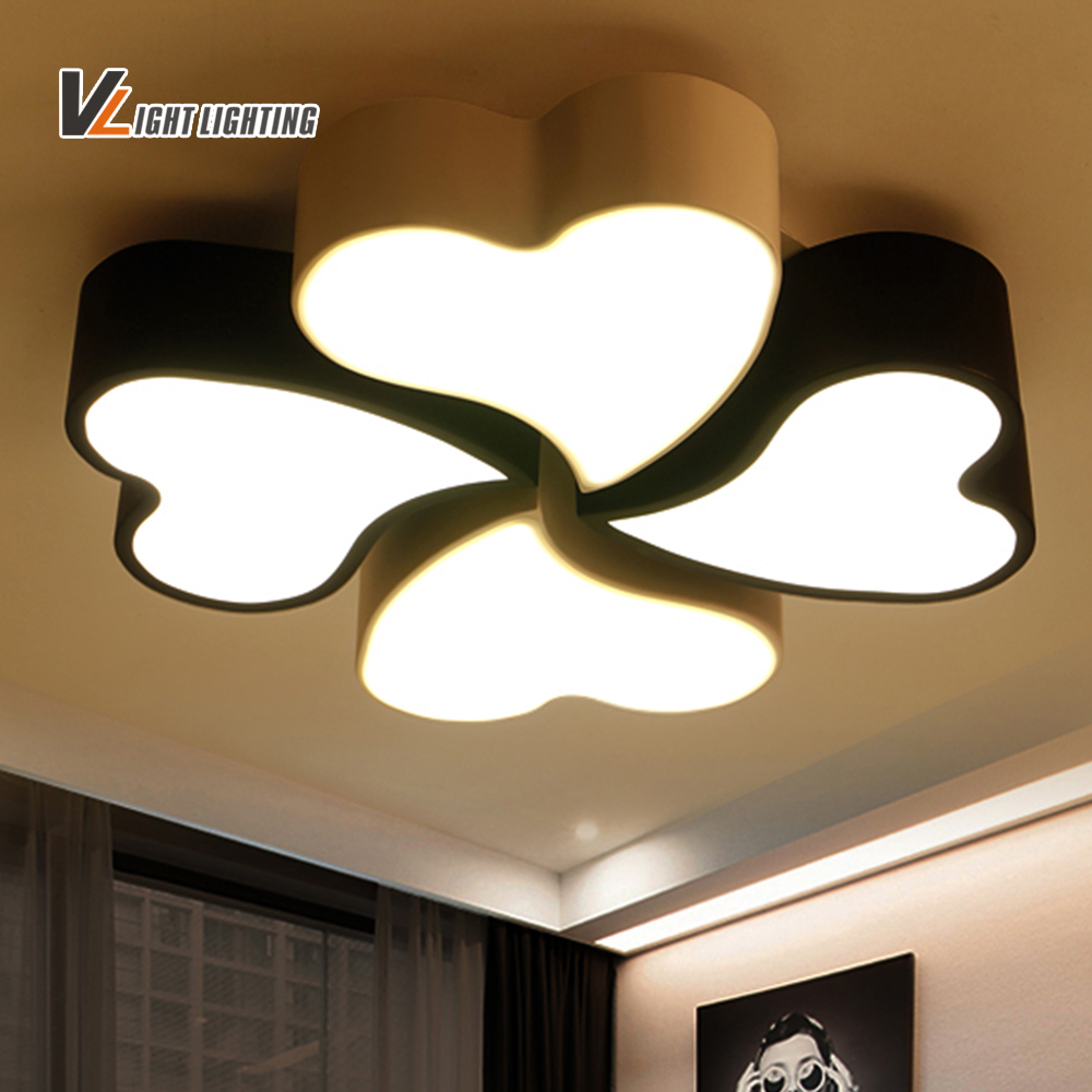 Aliexpress buy led clover beautiful ceiling light long time aliexpress buy led clover beautiful ceiling light long time lighting modern ceiling lights top class perfect light for bedroom dining room from arubaitofo Images