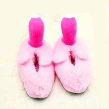 Buy Cartoon Flamingo Slippers Winter Home Warm Cotton Slippers Plush Cartoon Slippers Plush Slippers One size about 27CM H403 directly from merchant!