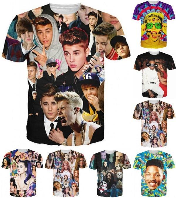 New 3D print T shirt M...