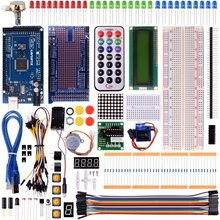 Miroad K21 Complete Project Kit Ultimate Starter Kit for Arduino Mega2560 UNO Nano with Tutorials, MEGA 2560 Controller Board