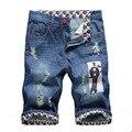 2016 Spring summer jeans male fashion mens jeans capris denim shorts men  Factory Price jean shorts Free shipping