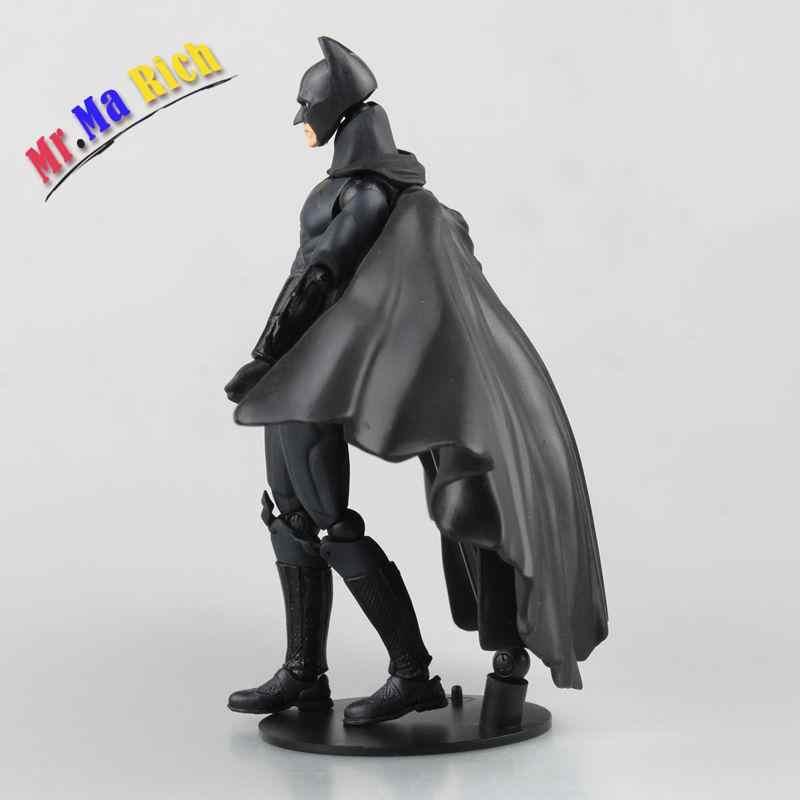 Bilimkurgu Revoltech Serisi 008 # Batman Şekil Juguetes Pvc Action Figure Koleksiyon Model Oyuncak Çocuk Oyuncakları Brinquedos 16 cm