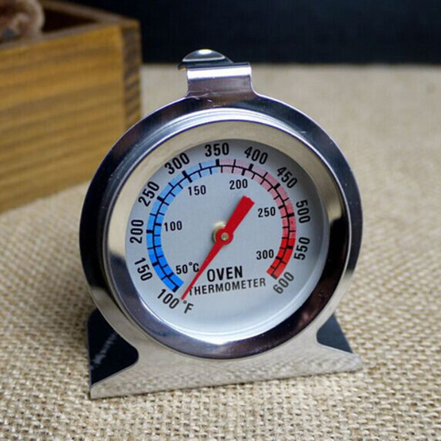Hot Sale 1Pcs Food Meat Temperature Stand Up Dial Oven Thermometer Stainless Steel Gauge Gage Kitchen Cooker Baking Supplies