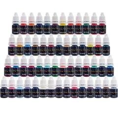 Tattoo 54 Colors Tattoo Ink Set Pigment Kit 8ml жидкость tattoo energy 30мл 0мг