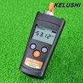 KELUSHI MIni FTTH Fibra Fibra Medidor de Potencia Óptica Cable Tester 6 ~-70dBm Visual Fault Locator APM80T Con LED de luz