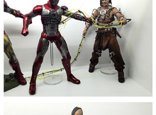 купить 1/6 Figure Body Metal Y Display Stand for 12 inch Action Figure Head Play TTL Hot Toys Soldier and Doll по цене 451.43 рублей