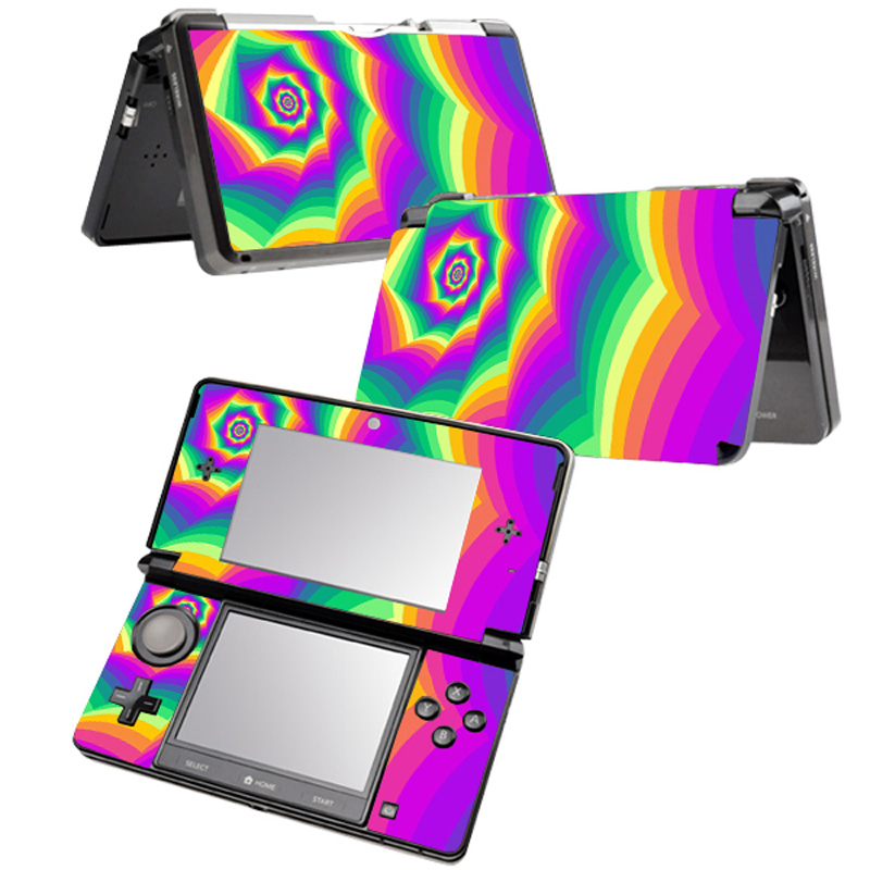 Free Drop Shipping Factory Vinyl Stricker Skin for 3DS Game Console Protective Skin