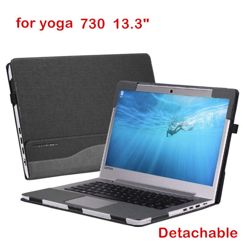 Creative Design Cover For Lenovo Yoga 730 13.3 Sleeve PU Leather Laptop customized Case For Yoga 730 13 Stylus Gift