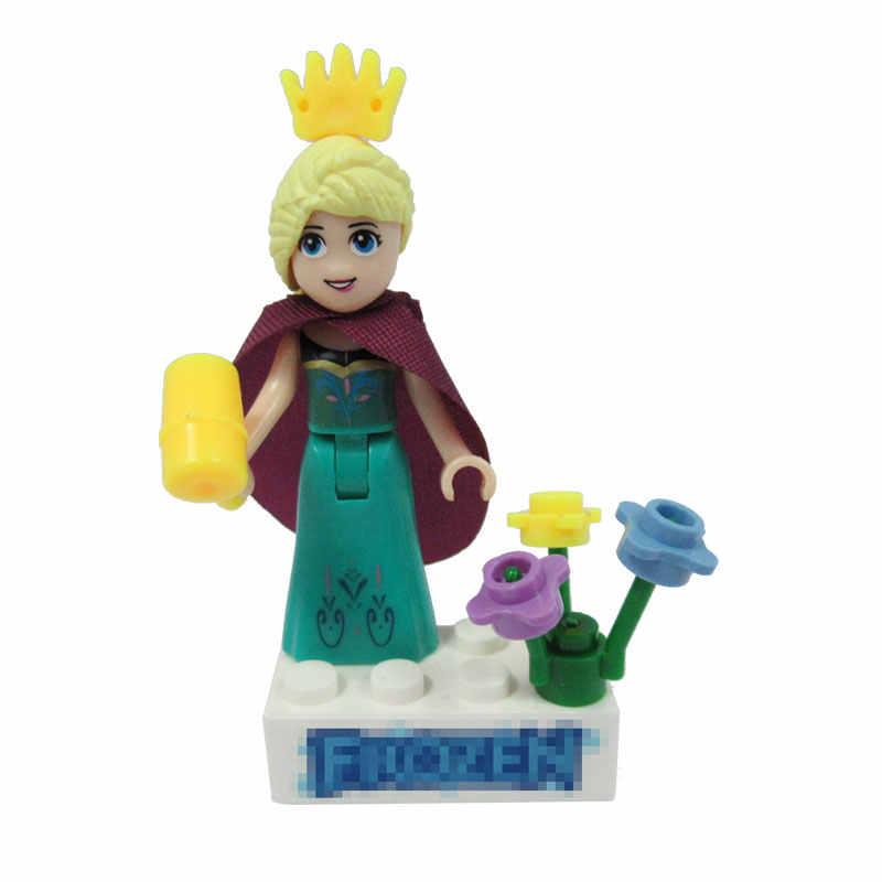 Legoing amigos princesa chica figuras amigo para niñas bloques de construcción juguetes para niños ensamblar amigos Legoing bloque estatuilla