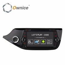 1024*600 Android 6.0 Car DVD Player For Kia CEED 2013 2014 2015 Stereo Radio GPS 8 Octa Core WIFI 4G SIM LTE 2GB RAM 16GB Flash