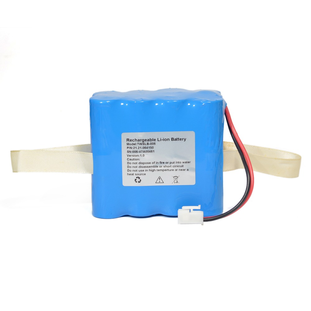 5200mAh New Electrocardiogram machine battery for EDAN F6 TWSLB-006 4IXR19/65-2 electrocardiogram generator for academic