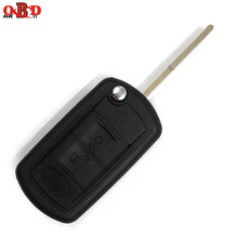 HKOBDII New Replacement Flip Key Remote Car Fob For Land Rover Range Rover 7941 Chip 433mhz With Uncut Blade