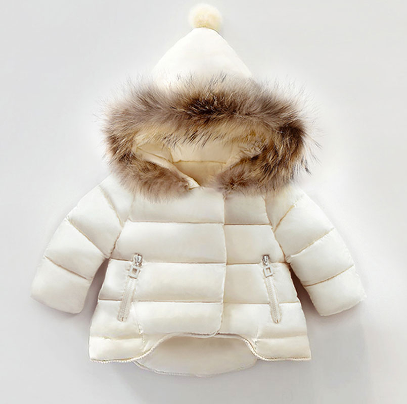 New Baby Girls Boys Jackets Autumn Winter Jacket Kids Warm Hooded Children Outerwear Coat Boys Girls Clothes children winter coats jacket baby boys warm outerwear thickening outdoors kids snow proof coat parkas cotton padded clothes