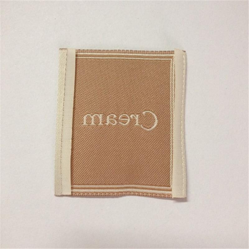 custom garment labels woven lanels clothing main label in garment