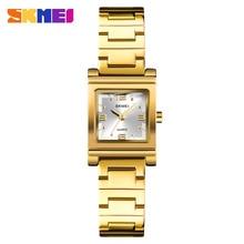 hot deal buy skmei luxury women watch famous brands gold fashion creative bracelet watches ladies women wrist watches relogio femininos 1388