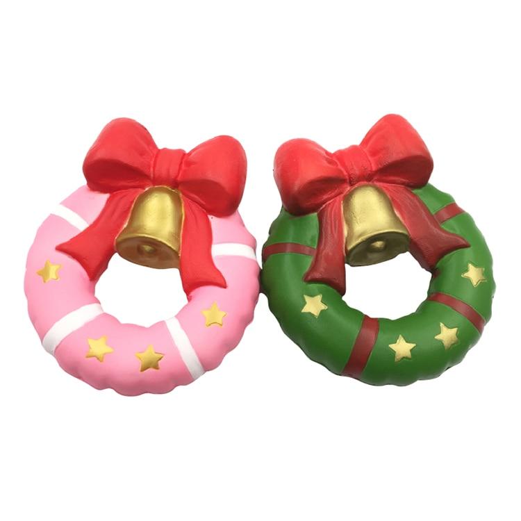 Christmas Jingle Bell Donut 13cm Gift Slow Rising Original