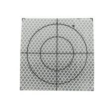 20*20 мм Общая станция отражатель туннель измерения светоотражающие наклейки Призменная бумага светоотражающий лист для Leica Sokkia