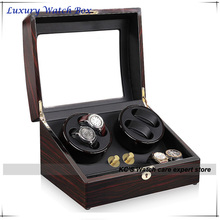 4 Quality Automatic Watches Winder Wood 4 6 Storage Slots Great Gift Box for Leader Boss