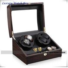4 качество автоматические часы намотки дерева 4 + 6 хранения слоты большим подарочной коробке для лидер и босс GC03-D31EB