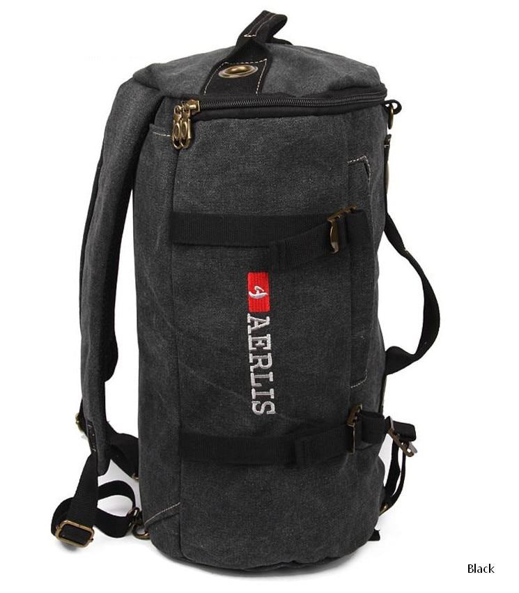남자 캔버스 군사 배낭 빈티지 어깨 가방 다목적 가방 가방 책가방 배낭 남성 학교 가방 노트북 여행 가방