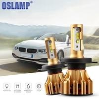 Oslamp H4 LED Headlight Bulb Hi Lo SMD Chips 70W 7000LM 6500K H4 Led Car Led