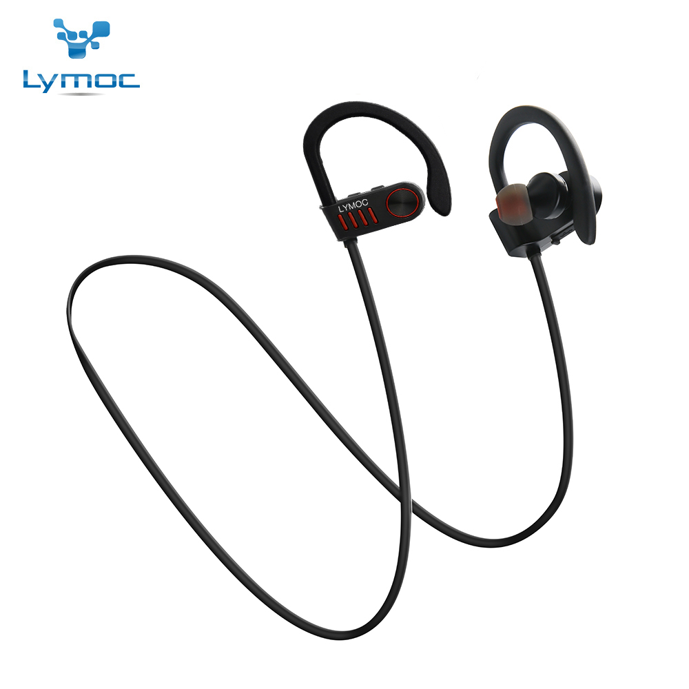 Lymoc M5 Wireless Bluetooth Headset Sport Earphone Running Gym Headphones Handsfree Auriculares CVC6.0 Noise Cancelling Musical lymoc wireless sport headset running bluetooth earphone ipx4 waterproof stereo headphones handsfree for iphone xiaomi samsung