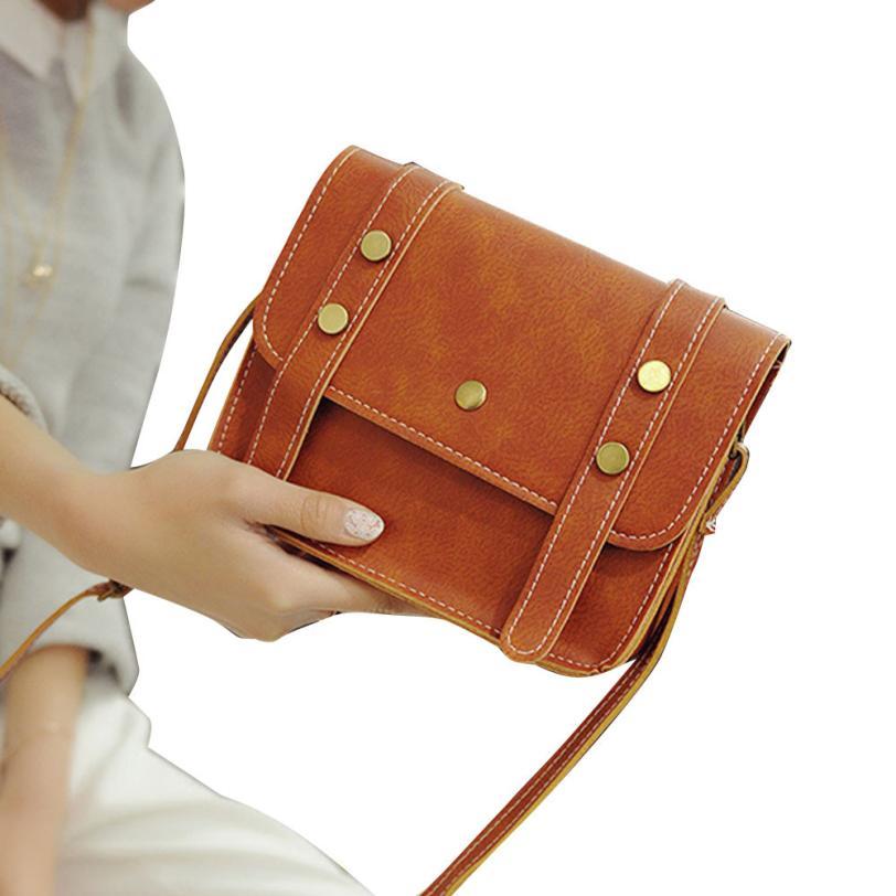Women\'S Messenger Leather Shoulder Bag Handbag Messenger Hobo Bag Satchel Purse Tote #F