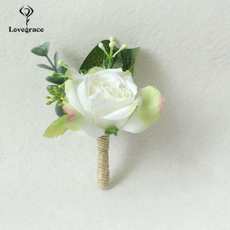 Design your own rose and fern button hole Only £1.00 each