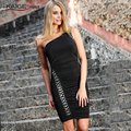 KaigeNina New Fashion Hot Sale Women  Embellished luxuriant appliques stones Wear to Work Party Evening Prom Bodycon Dress 2236