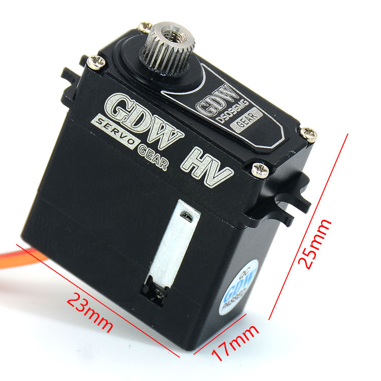 1PC GDW TRX4 Mini Servo Universal Differential Shift Steering Servos with Metal Gear for RC Cars Modification Upgrade Accessorie tower pro mg90 metal gear servos with parts