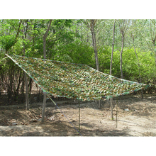 Wholesale – Hunting & Camping Sun shelter Net 2X2M China Military Jungle Camouflage Woodlands Leaves outdoor Car Shade