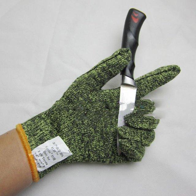 Fio DuPont fio luvas corte resistentes luvas anti lâmina trabalho facada