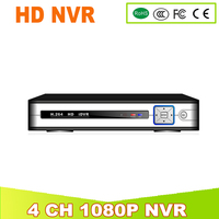 YUNSYE 4 CH HD Network Video Recorder H 264 NVR 4CH Max 4K Output Network Recorder