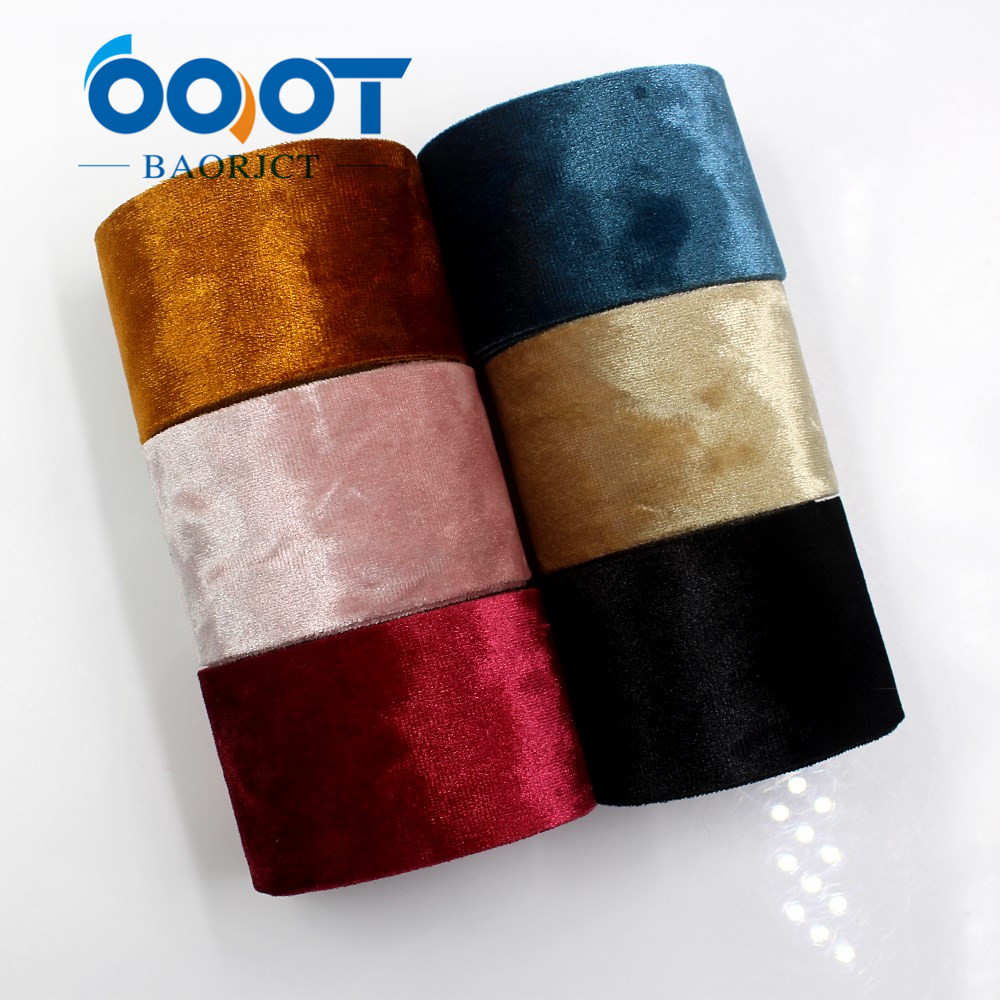 Ooot Baorjct I-181103-91,2yards 38mm Advanced Material Flannel Ribbon Diy Handmade Bow Headdress Gift Wrap Birthday Decoration Easy And Simple To Handle Apparel Sewing & Fabric Ribbons