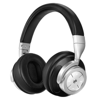 IDeaUSA V200 Active Noise Cancelling Apt X Bluetooth Headphones With Microphone Over Ear Foldable Wireless Headphone