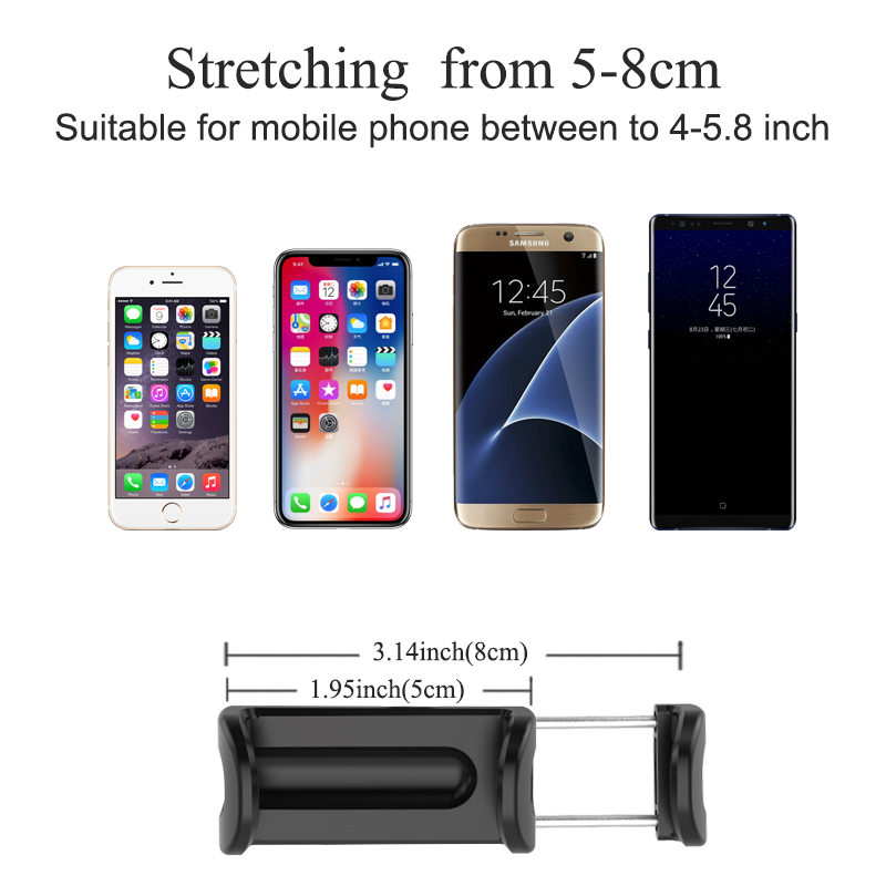 XMXCZKJ Holder for Phone Rearview Mirror Car Phone Holder for Xiaomi Redmi Note 7 Support Smartphone Voiture Phone Stand in Phone Holders Stands from Cellphones Telecommunications