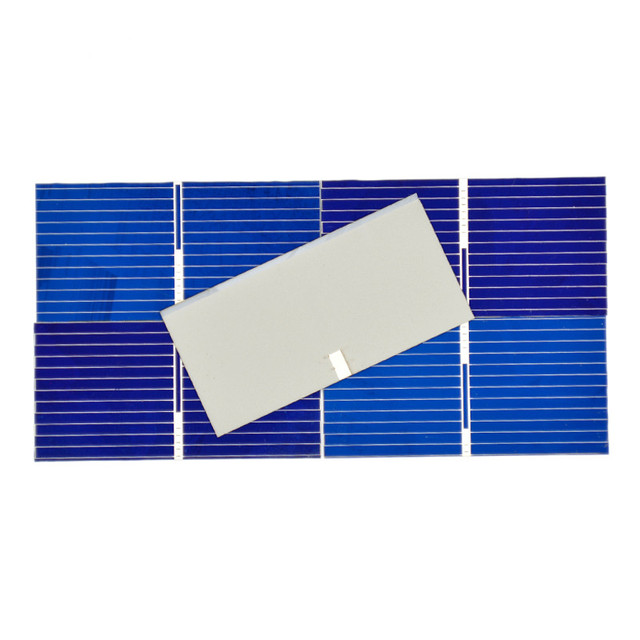 100Pcs Solar Panel China Painel Cells DIY Charger Polycrystalline Silicon Placa Solar Bord 39x19MM