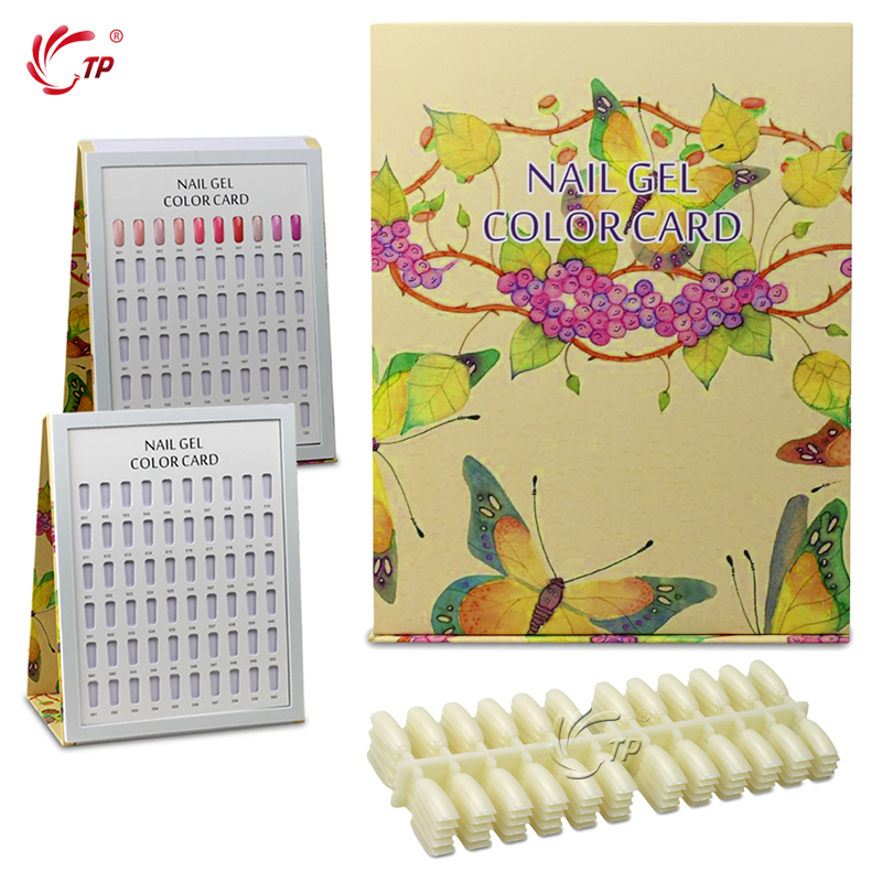 TP 1pc Nail Tips Display Libro Nail Art UV Gel Polish Salon Manicure - Arte de uñas - foto 2