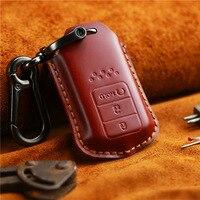 Cow Leather Wallet For Car Key Holder Men Women Car Purses Cars Keys Wallet Men Pouch Pocket Car Keychain Creative Key Bags