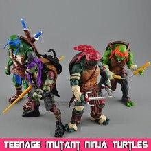 2016 Nuevo Juguete hasbroeINGlys Teenage Mutant Ninja Turtles Figuras de Acción TMNT NECA Modelo Juguetes Para Niños Juguetes Regalos Brinquedos