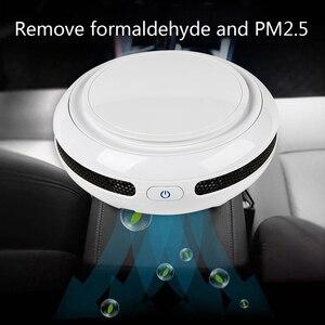 Image 4 - FA 818A Portable Car Anion Air Humidifier 3 5㎡ Area Aromatherapy Humidifier Car Air Cleaning Sterilizer Car air purifiers