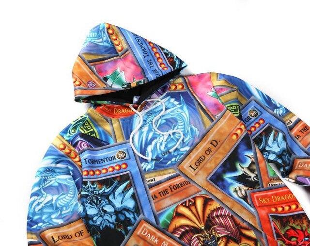 Аниме толстовка Yu-Gi-Oh 3