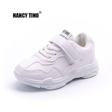NANCY TINO  Kids Sneakers Child Breathable Athletic Shoe Girl Comfort Sneaker Boy Sports Children Trainer Flats