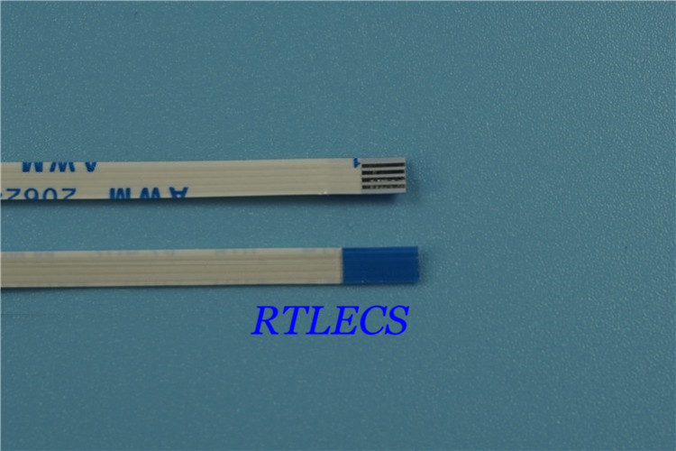 100pcs FFC / FPC Flexible flat cable 6 PIN 0.5 mm pitch Same directions Length 60 mm 80 100 120 150 200 250 300 400 500 mm OEM