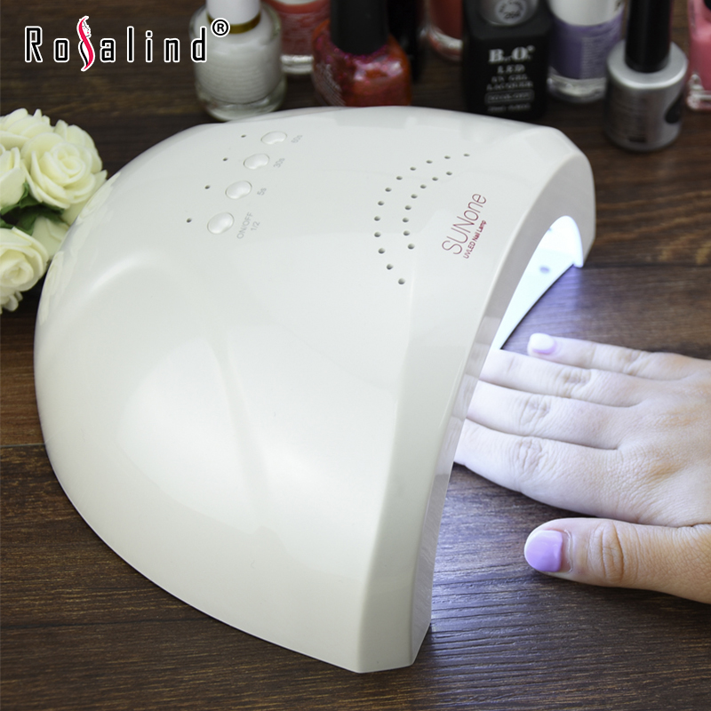 UVLED Sunone Professional White Light 48W UV LED Lamp UV Nail Dryer 365+405nm Curing UV Gel LED Gel Nail Polish Nail Art Tool