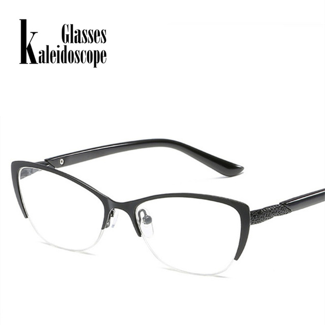 Kaleidoscope Glasses Reading Glasses Men Women Metal Optical Mirror Glasses Anti-Fatigue Male Cat Eye Glasses Elderly Dedicated